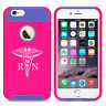 For iPhone X XS Max XR 7 8 Plus Shockproof Impact Hard Case RN Registered Nurse