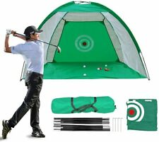 Practice Golf Net, Golf Hitting Nets, Driving Range with Target&Carry Bag