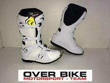STIVALI FORMA OFF-ROAD COUGAR WHITE BIANCHI MOTOCROSS QUAD ENDURO TAGLIA 38