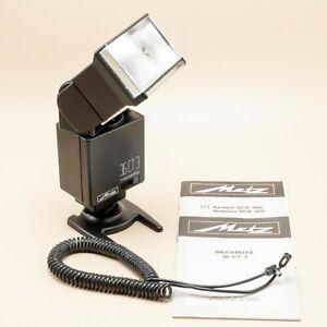 Metz Mecablitz 36 CT3 SCA 300 System Flash Gun - Tested/100% - Superb Condition