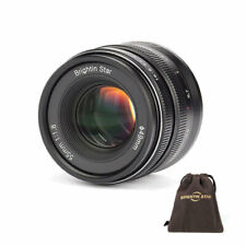 Brightin star 55mm f/1.8 Full Frame Manual Fixed Lens for Sony FE/E Mount Camera