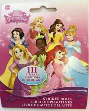 111 Disney Princess Stickers Party Favors Teacher Supply - Ariel Tangled Belle
