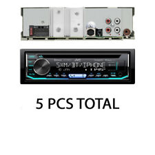 LOT OF 5 PCS JVC KD-TD90BTS Car Radio Stereo Single DIN CD In-Dash Receiver