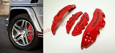 AMG Style Brake Caliper Covers Red Mercedes X166 W166 W463 G-Class 4pcs.