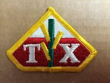 TX Embroidered Patch