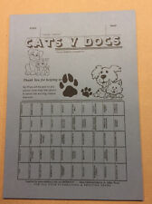 25 Tickets - Cats v Dogs - Fundraising Ticket - 50 Spaces -Fundraising