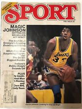 SPORT Magazine February 1982 Basketball Special LA Lakers' Magic Johnson G