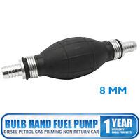 8mm Bomba Manual Antirretorno de Combustible Gasolina Diesel para Moto Coche