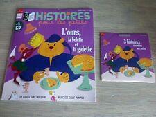 REVUE  HISTOIRES POUR LES PETITS  N° 192  JANVIER  2020  /  L'OURS , LA BELETTE