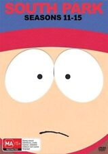 South Park Season Series 11, 12, 13, 14 & 15 DVD Box Set R4 New 15-Disc Set