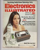 1972  Electronics Illustrated Magazine - Stereo, CB , Video VHS,  108 pages  /j6
