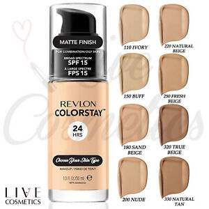 Revlon Colorstay Foundation 24HRs Matte Makeup - w/PUMP 30ml **Choose Shade**