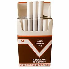 ONE PACK (20 CIGARETTES) MADE IN THE USA SINCE 1998 SMOKE FREE 100% NO NICOTINE