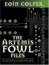 SIGNED by Eoin Colfer - The Artemis Fowl Files Confidential ARC SC + Pic Advance