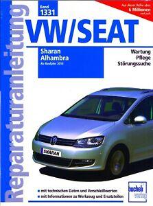 Werkstatt– u.Reparaturhandbuch für VW / Seat Sharan / Alhambra Band 1331