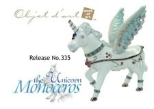 "Objet D'Art Release #335 ""Monoceros The Unicorn"" Whimsical Horse Hand Decorative"