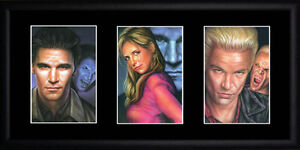 Buffy the Vampire Slayer - Framed Triple Postcard Set PB0088