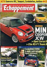 Echappement   N°495   Novembre 2008 : Mini cooper s jcw