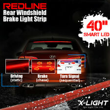 """40"""" Roofline LED Third Brake Light Kit Above Rear Windshield w/ Sequential Mode"""