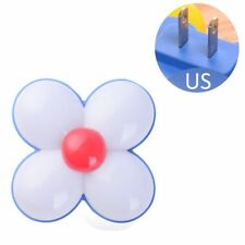 Cute Sun Flower LED Night Light Bedroom ABS EU/US Plug Light Sensor Night Lamp