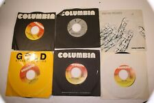 "45 rpm (6) - Rock/Pop vinyl Records 7"" Eddie Money, Billy Joel, Mike & Mechanics"
