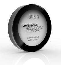 Verona Ingrid Profesional subida Translúcido Polvo Facial Efecto Mate larga duración