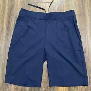 Nike Golf Women's Small  Dri-Fit UV Shorts Navy Chino NWT Retail $75