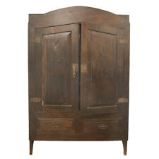 Magnificent Rare 18th Century Brazil Colonial Cupboard Armoire Cabinet