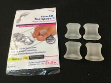 PediFix Visco - Gel Toe Spacers Cushion Medium 4 Pk Spreaders # 1126 NEW