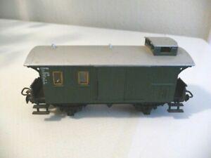 4008 Märklin HO - Bagagewagen/Voiture fourgon du Privatbahn  (E2100619)