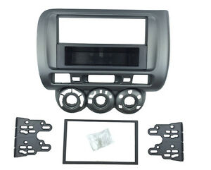 Radio Fascia for Honda Jazz One Double Din Stereo Panel Dash DVD Trim Kit Frame