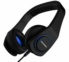 BLAUPUNKT BPA-505 On-Ear Headphones with Mic - Black - Reduced to Clear