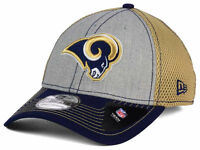Los Angeles Rams New Era 39THIRTY NFL Neo Men's Flex Fitted Cap Hat - Size: S/M