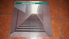Revista Arquitectura Lotus International 53 1987 Electa Italiano Englisch