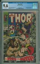 THOR #152 CGC 9.6 OW/WH PAGES // JACK KIRBY + VINCE COLLETTA COVER