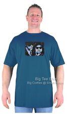 Big Mens BTS Jake and Elmo Blues T-Shirt  Colours 2XL 3XL 4XL 5XL 6XL 7XL 8XL