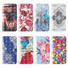 3D Painted Card Wallet Case Phone Covers For iPhone 11 12 Pro Max 6 7 8 X XR XS