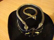 { SNAKE MASTER } Unique Victorian / Edwardian Steampunk Cowboy Hat by  MYFYRIAN