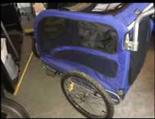 Solvit Pet Bicycle Trailer Large Convertible Stroller Kit! Works Great ~ Local