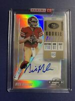 2018 Panini Contenders Optic Nick Mullens Rookie Ticket Auto Silver