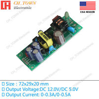 Double Road 12V 5V 6W Switching Power Supply Buck Converter Step Down Module