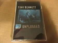 1994 TONY BENNETT MTV Unplugged Cassette Tape Columbia N.Mint