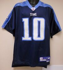 Tennessee Titans Vintage Vince Young Authentic Reebok NFL Equipment Jersey SZ M
