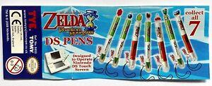 1 x Zelda Nintendo DS Stift, Tomy, 7 Farben, Eingabestift, Pen,