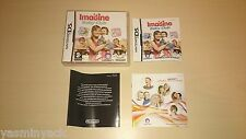 IMAGINE BABY CLUB - UBISOFT - VGC - NINTENDO DS 2008 - CASE/INLAY/MANUAL ONLY