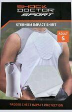 Shock Doctor Sport Sternum Impact Padded Chest Shirt Adult Small Baseball Soccer