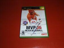 MVP 06 NCAA Baseball (Microsoft Xbox, 2006)-No Manual