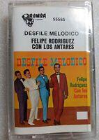 Felipe Rodriguez Y Los Antares Desfile Melodico RUMBA 55565 1986 Cassette Sealed
