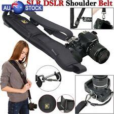 Single Shoulder Sling Belt Strap For DSLR Digital SLR Camera Quick Rapid Black