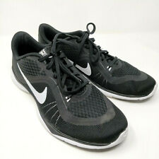 Nike Women's Size 9.5 Flex Trainer 6 Training Shoes Black/White 831217-001